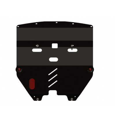 Защита картера и КПП для Nissan Teana 15.0976