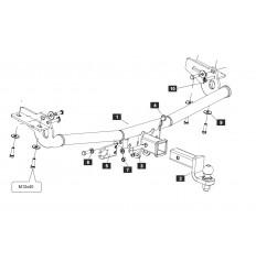 Фаркоп на Ford Explorer SF.3691.32