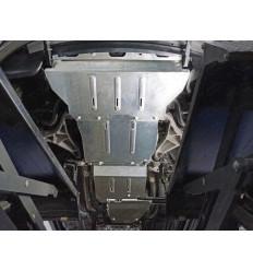 Защита картера, радиатора, КПП, РК и топливного бака Jeep Grand Cherokke ZKTCC00356K