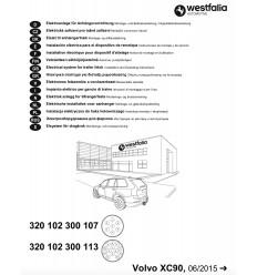 Электрика оригинальная на Volvo XC90 320102300113
