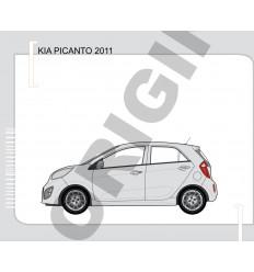 Фаркоп на Kia Picanto E3006BA