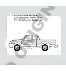 Фаркоп на Nissan Navara E4404CA