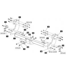 Фаркоп на Mercedes Sprinter Classic SF.2829.21