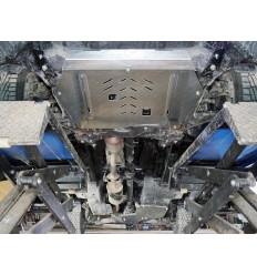 Защита картера, КПП, топливный бак, задний дифференциал Haval F7 ZKTCC00397К