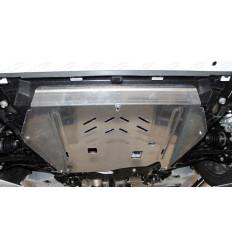 Защита картера, КПП, топливного бака, заднего дифференциала, топливных магистралей Haval F7 ZKTCC00406K