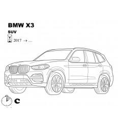 Фаркоп на BMW X3 4758-A