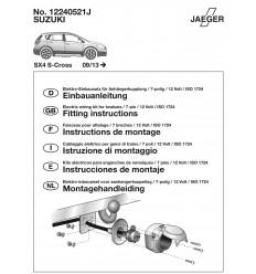Электрика оригинальная на Suzuki SX4 S-Cross 12240521