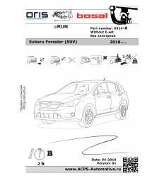 Фаркоп на Subaru Forester 6314-A