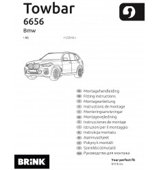 Фаркоп на BMW X5 665600