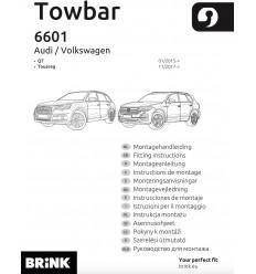 Фаркоп на Volkswagen Touareg 660100