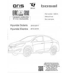 Фаркоп на Hyundai Solaris 4260A