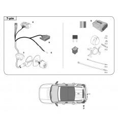Штатная электрика к фаркопу на Land Rover Freelander 136429/330407-T