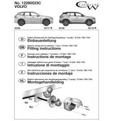 Штатная электрика к фаркопу на Volvo V60/V90/S90/XC40/XC60 12260523