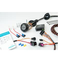 Штатная электрика к фаркопу на Jeep Wrangler 12610516