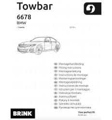 Фаркоп на BMW 3 667800