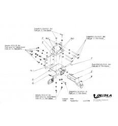 Фаркоп на Toyota Hilux T/046