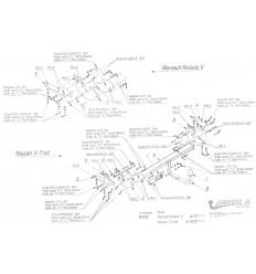 Фаркоп на Nissan X-Trail R/069