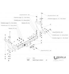 Фаркоп на ГАЗ-2705 L/109