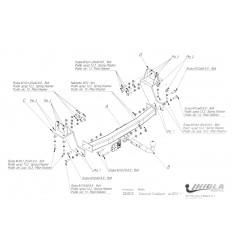 Фаркоп на Chevrolet Trailblazer CH/015