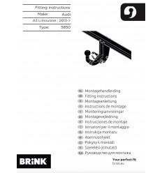 Фаркоп на Audi A3 585000