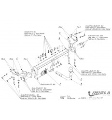 Фаркоп на Hyundai Tucson K/062