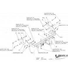 Фаркоп на Renault Dokker G/006