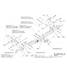 Фаркоп на Citroen Jumper 3 C/025