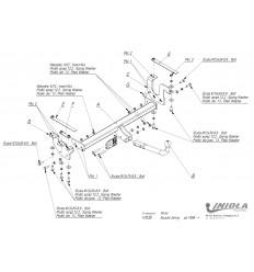 Фаркоп на Suzuki Jimny V/030