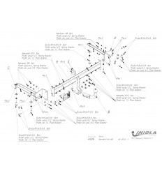 Фаркоп на Honda Civic H/026