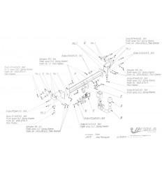 Фаркоп на Fiat 500X J/A72