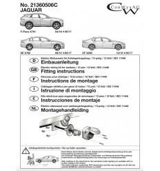 Штатная электрика к фаркопу на Jaguar F-Pace/XE/XF 21360506