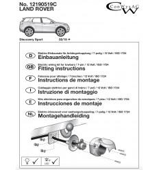 Электрика оригинальная на Land Rover Discovery Sport 12190519