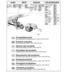 Электрика оригинальная к фаркопу на Audi A3, Q3 12500559