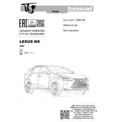 Фаркоп на Lexus NX 3098-AN