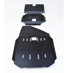 Защита картера и КПП Cadillac Escalade ALF3701.1-37.01.2-37.02st