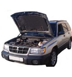 Амортизатор (упор) капота на Subaru Forester 07-01