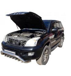 Амортизатор (упор) капота на Toyota Land Cruiser Prado 120 15-04
