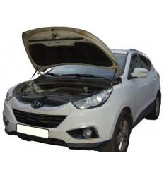 Амортизатор (упор) капота на Hyundai ix35 12-04