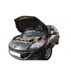 Амортизатор (упор) капота на Mazda 3 08-03