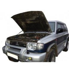 Амортизатор (упор) капота на Mitsubishi Pajero 02-10