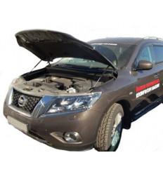Амортизатор (упор) капота на Nissan Pathfinder 01-12