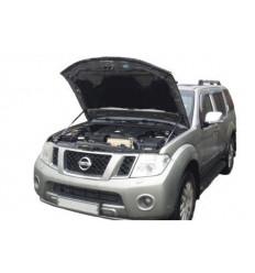Амортизатор (упор) капота на Nissan Navara 01-06