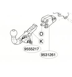 Быстросъемный шар фаркопа Toyota Land Cruiser Prado 150 9555217