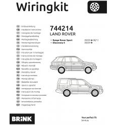 Штатная электрика к фаркопу на Land Rover Discovery 4/Range Rover Sport 744214
