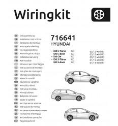 Штатная электрика к фаркопу на Hyundai i30 716641