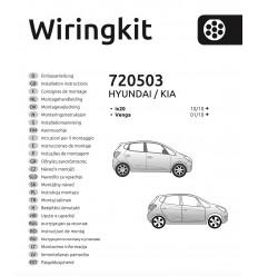 Штатная электрика к фаркопу на Hyundai ix20, Venga 720503
