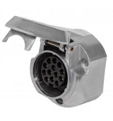 Розетка для фаркопа металлическая 13-pin ATE-07