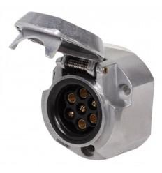 Розетка для фаркопа металлическая 7-pin ATE-05