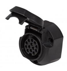 Розетка для фаркопа 13-pin пластик, без пыльника