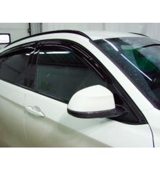 Дефлекторы боковых окон на BMW X6 SBMWX61432